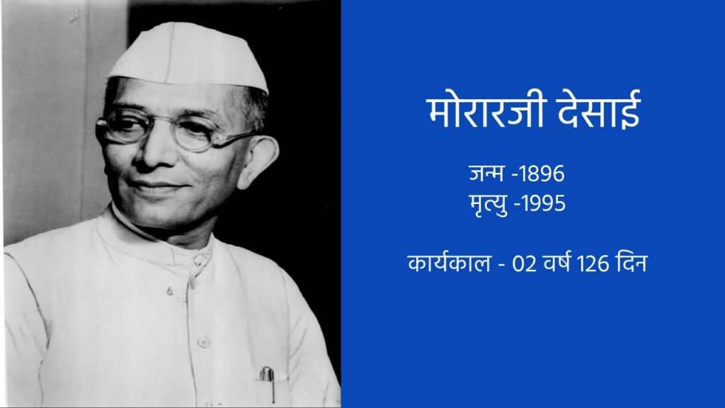 भारत के चौथे प्रधानमंत्री